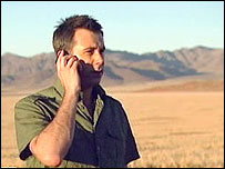 Click presenter Spencer Kelly calling from Namibia