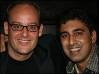 Mead Welles (left) and Saleem Siddiqi