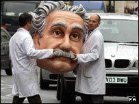 Einstein head