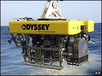 Odyssey's Remotely Operated Vehicle