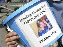 Fundraiser for Madeleine McCann