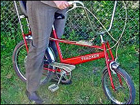 The Tracker bike was used by the Princess of Wales (Photo: Keys)