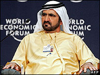 El jeque Mohammed bin Rashid Al Maktum