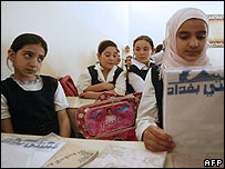 Iraqi schoolgirls