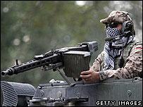 German soldier in Afghanistan (file photo)