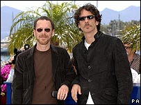 Directors Ethan (left) and Joel Coen in Cannes