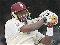 Dwayne Bravo played fluently before giving his wicket away