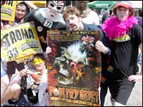 Parade for Poultrygeist in Cannes