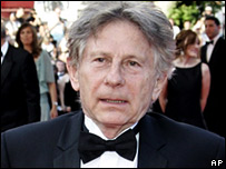 Roman Polanski arrives for the screening of No Country For Old Men