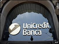UniCredit's headquarters in Milan