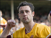 Motherwell striker Scott McDonald, Sportsound's Player of the Year