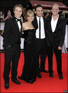Coronation Street's Jack Shepherd, Tina O'Brien, Ryan Thomas and Antony Cotton