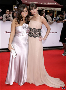 Charley Webb (right) and Jenna-Louise Coleman