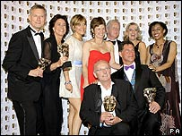 The cast of Casualty