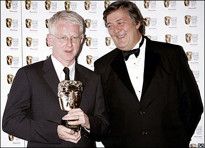 Richard Curtis and Stephen Fry