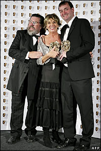 Ricky Tomlinson, Sue Johnston and Craig Cash