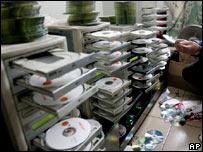 Torres para copias de discos compactos