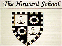 Howard School logo