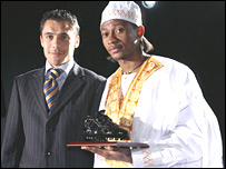 Mohamed Tchite (left) and Ahmed Hassan (right)