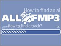 Логотип Allofmp3