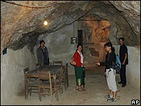 People tour Kaysone Phomvihane's cave in Viengxay, Laos. Archive picture