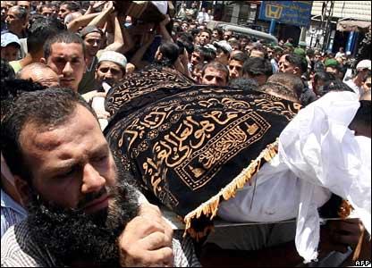 Beirut funeral