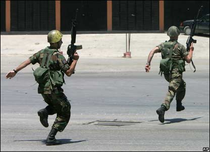 Lebanese soldiers