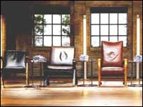 Dragons Den chairs