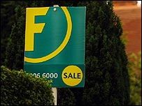 Foxtons marketing a property for sale