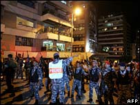 Scene of Beirut blast - 21 May