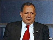 Silas Rondeau, ministro de Energ�a y Minas de Brasil