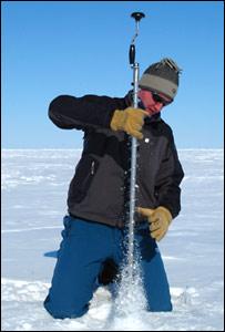 Ice drill (BBC)