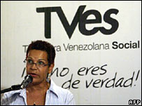 Lili Rodriguez, the new president of TVes