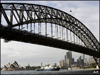 Sydney Harbour Bridge. File pic
