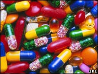 A selection of generic drugs