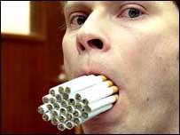Robert Webb as Robin in the Smoking Room