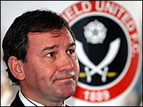 New Sheffield United boss Bryan Robson