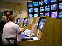 Remploy CCTV control room workers in Hereford