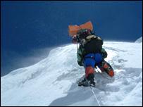 Iván Vallejo Ricaurte, montañista ecuatoriano.