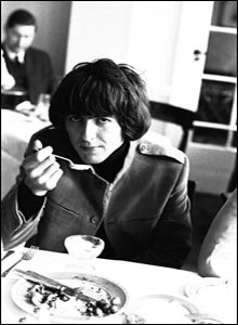 George Harrison at the Antrobus Arms Hotel in Amesbury