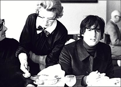 John Lennon at the Antrobus Arms Hotel, Amesbury