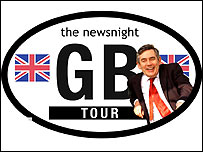 The Newsnight GB tour
