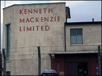 Kenneth Mackenzie mill. Picture by Norman Campbell