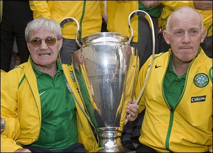 Bertie Auld and Bobby Lennox