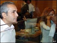 Mohammed M'Barek and Jamila M'Barek in court