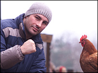 Joe Calzaghe says Jermain Taylor is becoming 'chicken'