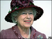 The Queen at the new planetarium