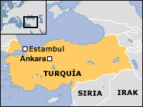 Mapa de Turqu�a