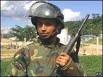 Soldado boliviano
