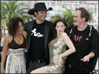Robert Rodriguez and Quentin Tarantino
